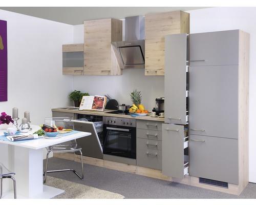 Küchen-Hängeschrank RIVA Oberschrank Küchenschrank 1 Tür 40 cm eiche san remo