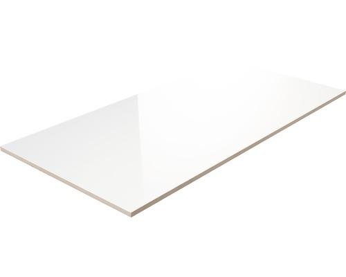 Steingut Wandfliese Weiß 30 x 60 cm glänzend gestreift