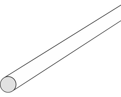 Kunststoff Rundstab Ø 1,0 mm, Länge: 1000 mm weiß