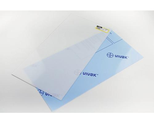 Vivak Platte transparent 0,8x250x500 mm