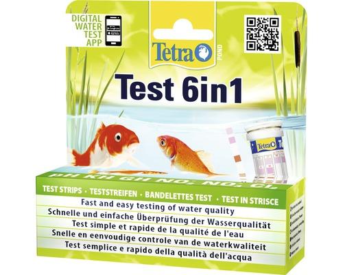 Wassertest TetraPond Test 6 in 1