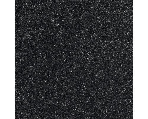 Teppichboden Shag Perfect Farbe 78 schwarz 500 cm breit (Meterware)