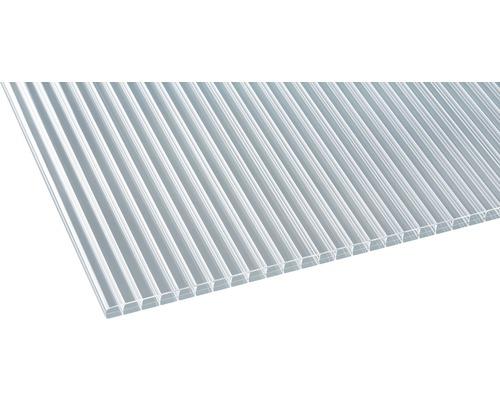 Polycarbonat Hohlkammerplatte Klar 2000x980x16mm