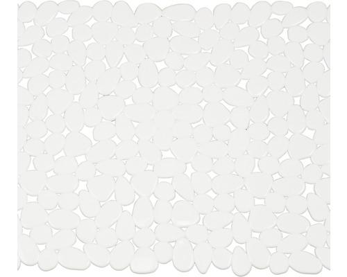 Duscheinlage Spirella Riverstone weiß 54 x 54 cm