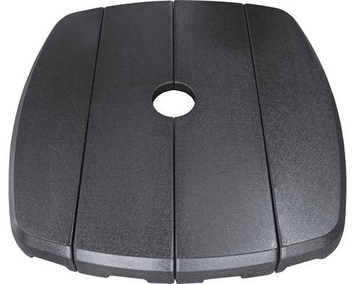 Schirmständer Kunststoff 11 kg schwarz