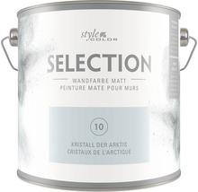 Premium Wandfarbe StyleColor SELECTION Farbton 10 Kristall der Arktis 2,5 l