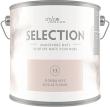 Premium Wandfarbe StyleColor SELECTION Farbton 13 Florida Keys 2,5 l