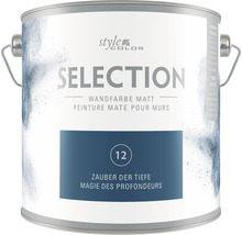 Premium Wandfarbe StyleColor SELECTION Farbton 12 Zauber der Tiefe 2,5 l