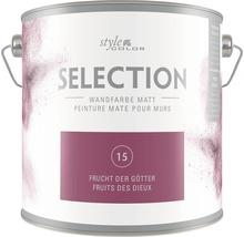 Premium Wandfarbe StyleColor SELECTION Farbton 15 Frucht der Götter 2,5 l