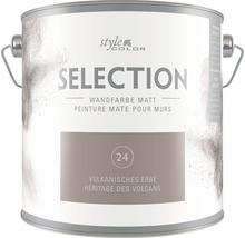 Premium Wandfarbe StyleColor SELECTION Farbton 24 Vulkanisches Erbe 2,5 l