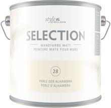 Premium Wandfarbe StyleColor SELECTION Farbton 28 Perle der Alhambra 2,5 l