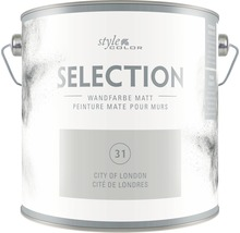Premium Wandfarbe StyleColor SELECTION Farbton 31 City of London 2,5 l