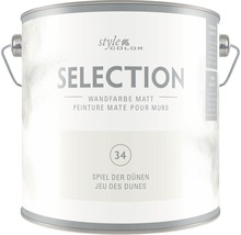 Premium Wandfarbe StyleColor SELECTION Farbton 34 Spiel der Dünen 2,5 l