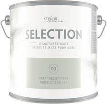 Premium Wandfarbe StyleColor SELECTION Farbton 03 Kraft des Bambus 2,5 l
