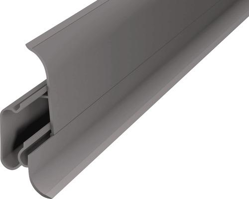Sockelleisten und Zubeh/ör riesige Auswahl integrierter Kabelkanal Kunststoff Fu/ßleisten PVC Moderne Laminatleiste 70x50 mm Au/ßenecke AE.101A