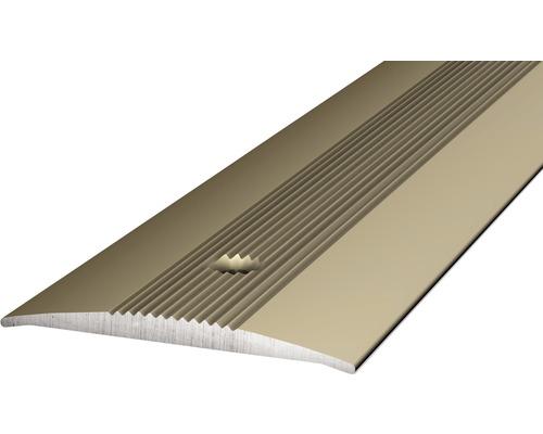 Übergangsprofil Alu edelstahl 37x1000 mm