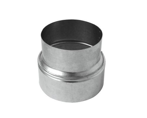 Ofenrohr-Reduzierung Ø 150-130 mm feueraluminiert