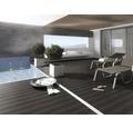 Konsta WPC Terrassendiele Futura graubraun gebürstet 26x145x4000 mm