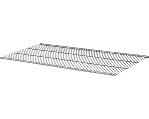Drahtgitterboden Walk-In Gridboard 800x506 mm silber