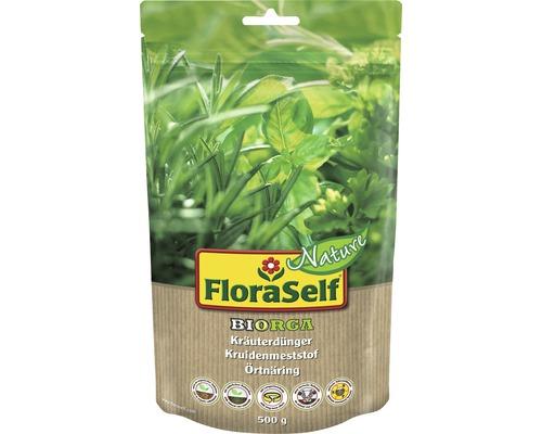 Kräuterdünger FloraSelf Nature BIORGA organischer Dünger 0,5 kg