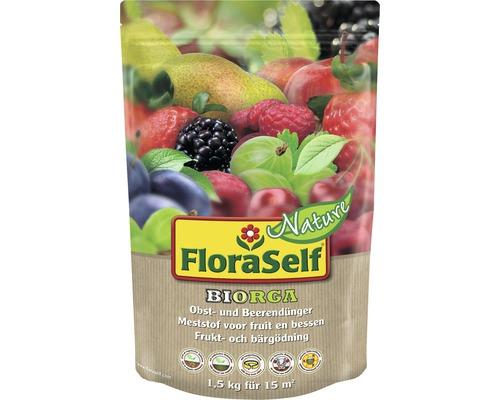 Obstdünger und Beerendünger FloraSelf Nature BIORGA organischer Dünger 1,5 kg