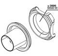 Abdeckung und Schlauchanschluss JBL ProFlow (u) 2000