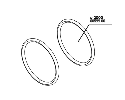 O-Ring Abdeckung und Schlauchanschluss JBL u2000