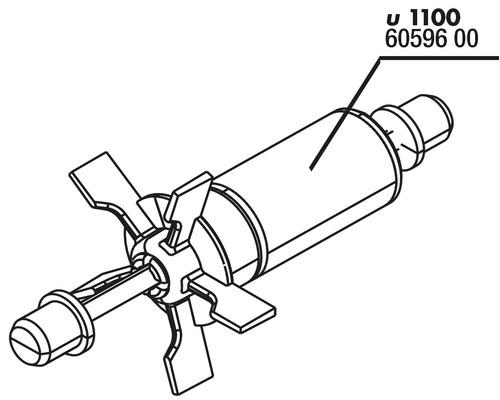 Rotor-Set JBL ProFlow u1100