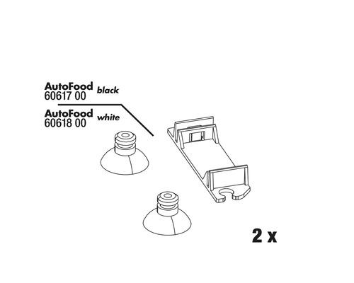 Sauger JBL AutoFood komplett 2 Stück weiß
