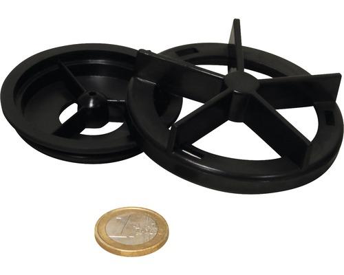 Abdeckung Rotor 2 Teile mit Dichtung JBL CP 500