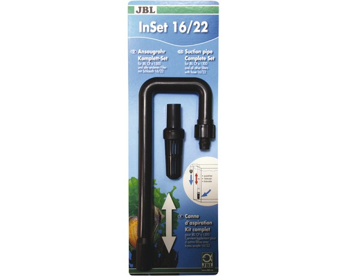 Ansaugrohr JBL InSet 16/22 CP e1500/1