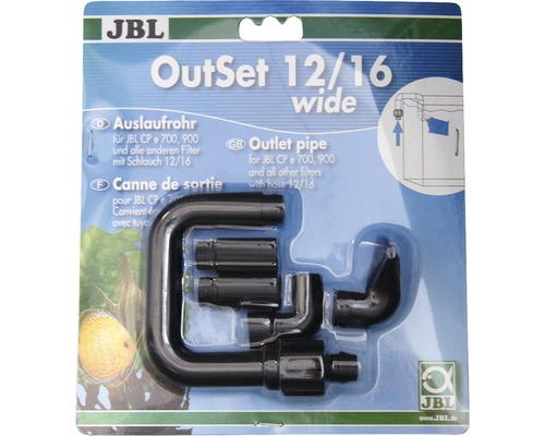 Auslaufrohr JBL OutSet wide 12/16 CPe7-900/1