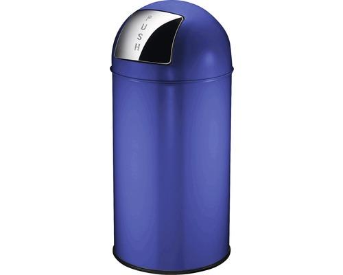 Schwingdeckeleimer Pushcan 40 Liter blau