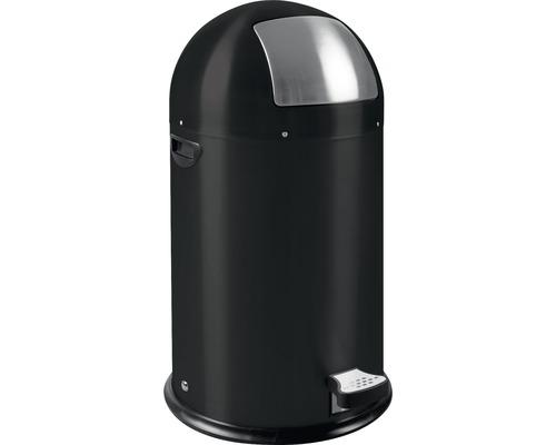 Treteimer 33 Liter matt schwarz