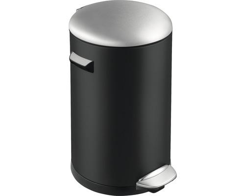 Treteimer Belle 20 Liter schwarz