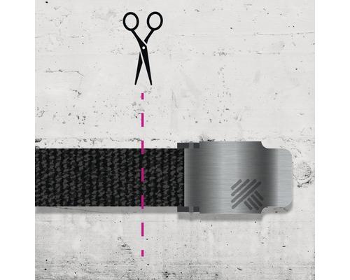 Elastischer Gürtel Hammer Workwear schwarz