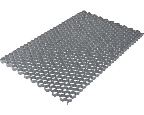 Kieswabe 76,4x117,6x3,2 cm grau