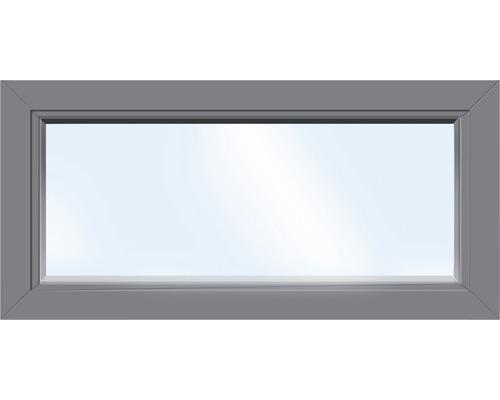 ARON Basic Kunststofffenster Festverglasung weiß//anthrazit Breite 1500 mm