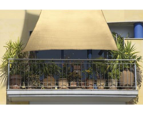 Balkon-Sonnensegel Rechteck weizen 140x270 cm