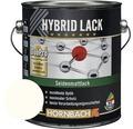Buntlack Hybridlack Möbellack seidenmatt RAL 9010 reinweiß 2 l