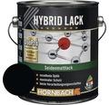 Buntlack Hybridlack Möbellack seidenmatt RAL 9005 tiefschwarz 2 l