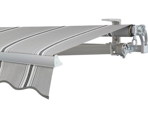 Gelenkarmmarkise 400x250 cm SOLUNA Concept ohne Motor Dessin A131