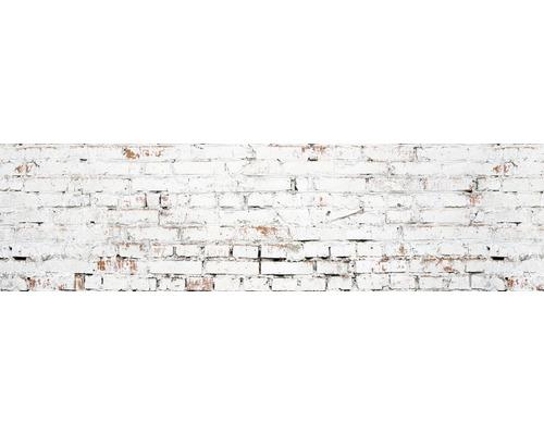 Kuchenruckwand Myspotti Splash White Bricks 220x60 Cm Bei Hornbach Kaufen