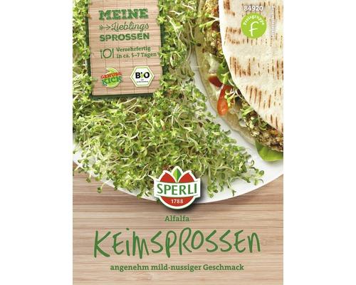Bio Keimsprossen Alfalfa Gemüsesamen Sperli