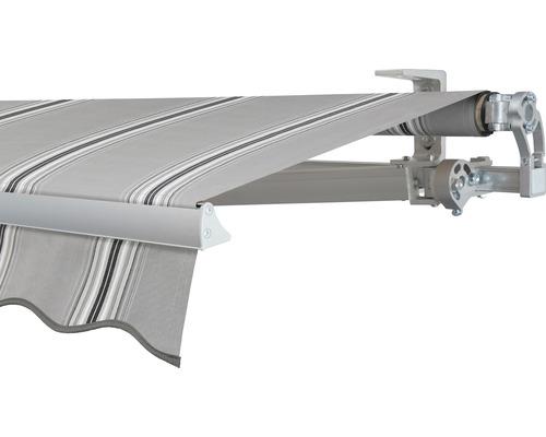 Gelenkarmmarkise 350x200 cm SOLUNA Concept mit Motor Dessin A131