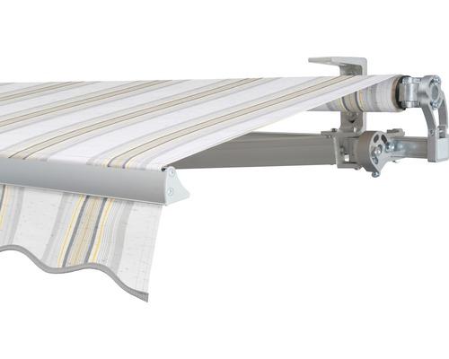 Gelenkarmmarkise 300x200 cm SOLUNA Concept mit Motor Dessin 6287