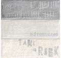 Feinsteinzeug Dekorfliese Brick grey 33,15 x 33,15 cm