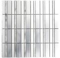 Aluminiummosaik ALF D202F silber 30x30 cm