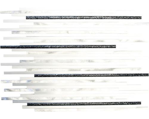 Aluminiummosaik ALF L402GB silber 27,2x39 cm