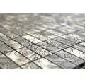 Aluminiummosaik ALF C101D silber 30x30 cm